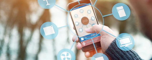 smartphone en tablet spelen een centrale rol bij 'the internet of things'